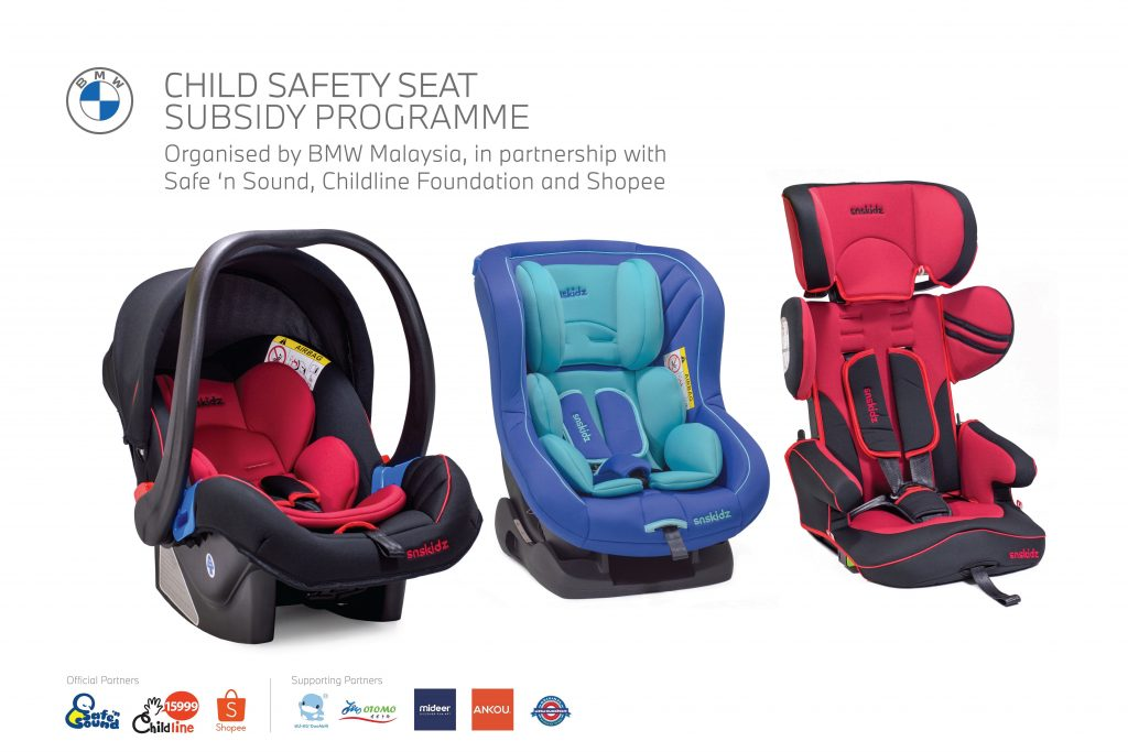 BMW's Child Safety Seat Subsidy Programme Enters Its Second Phase With More Partners On Board