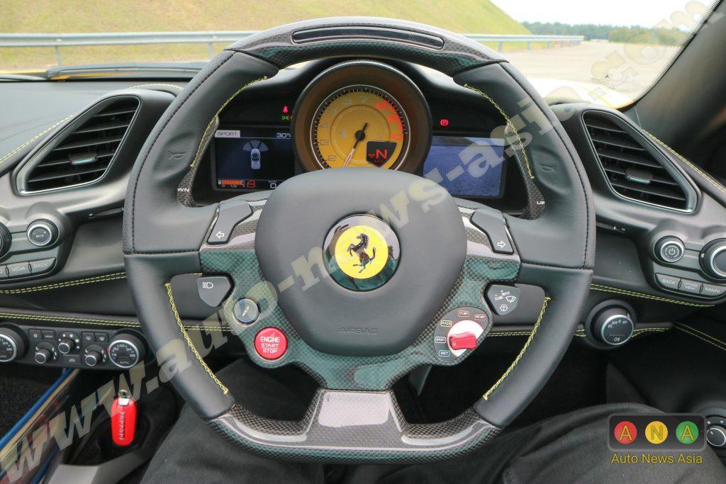 Inside A Ferrari 488 Spider