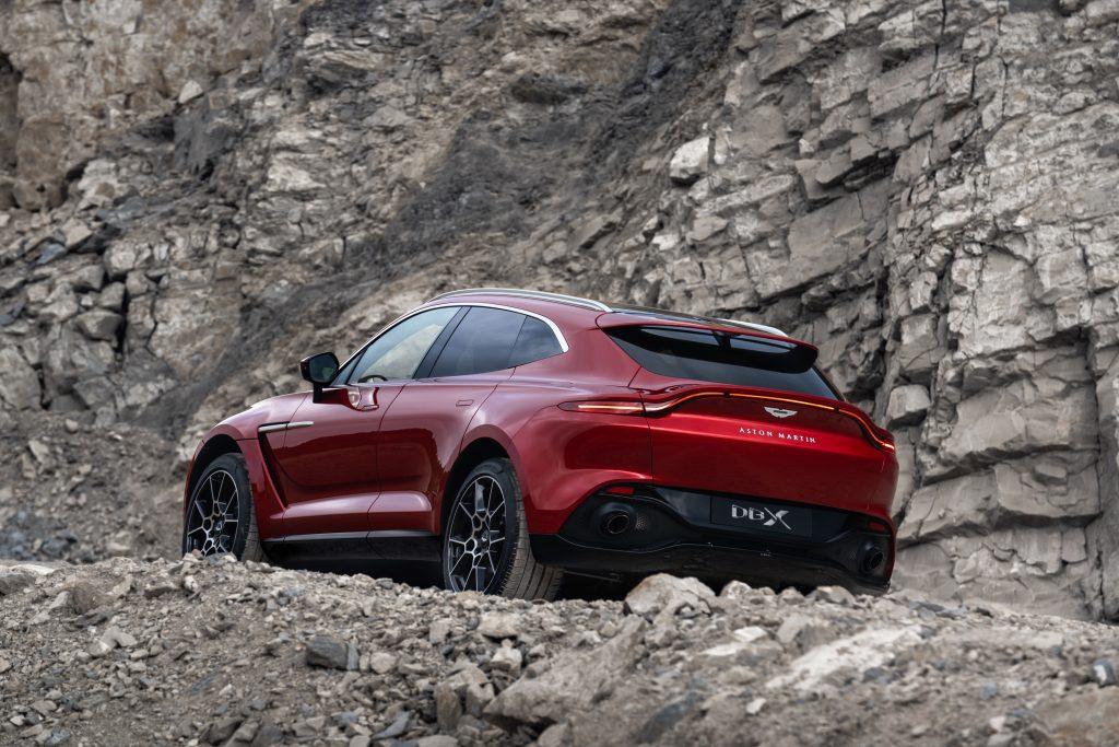 Aston Martin's SUV – DBX Unveiled
