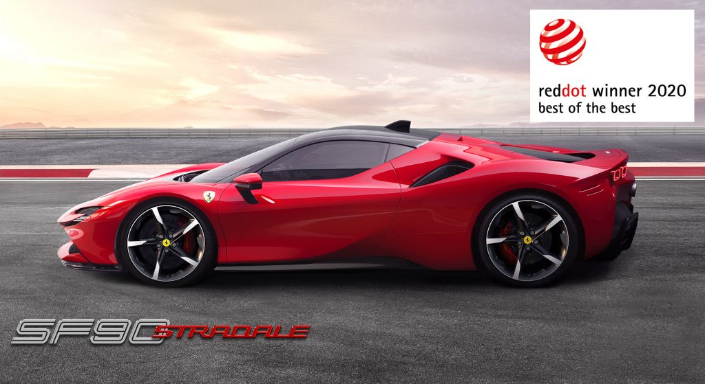 Ferrari SF90 Stradale Bagged The 2020 Red Dot: Best Of The Best Award
