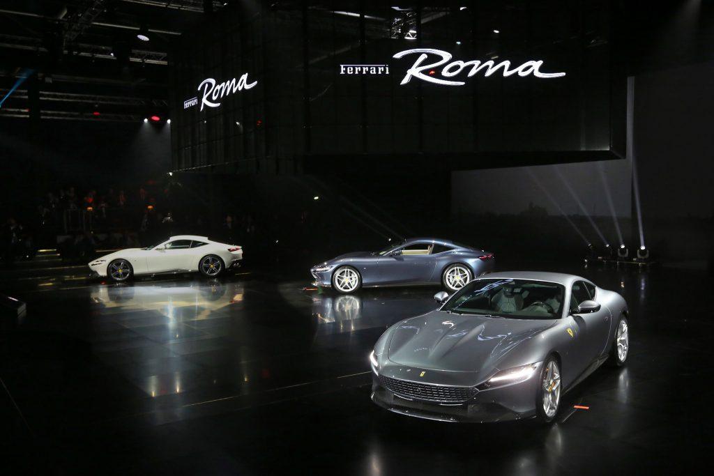 Ferrari Introduces The New Ferrari Roma