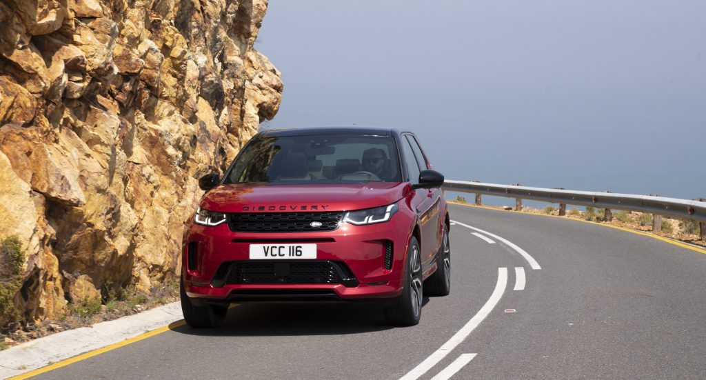 Here Comes The New Land Rover Discovery Sport