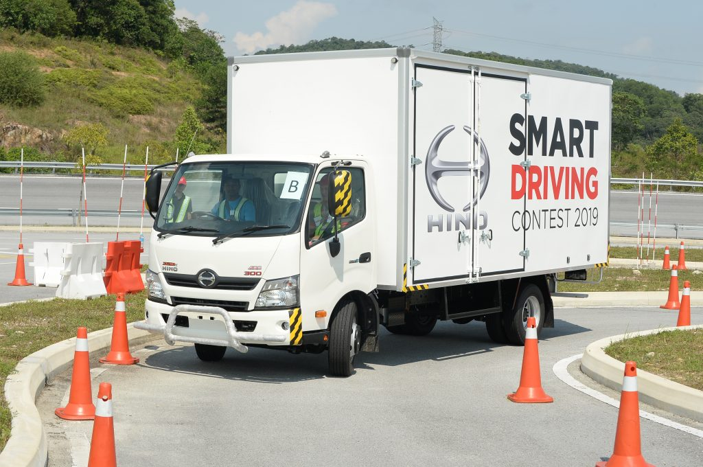 Hino Safety Drivings Unites The Spirit To Hino Trucks