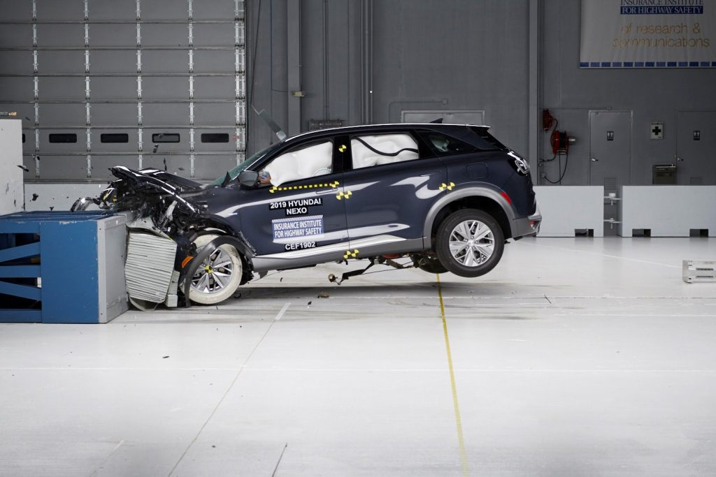 Hyundai NEXO Bagged Top Safety Pick+ Award