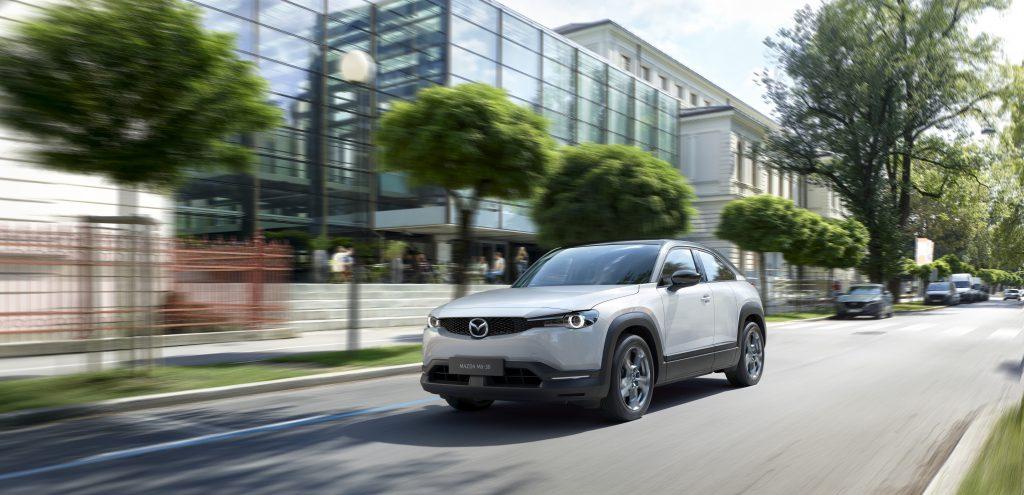 Mazda MX-30 Electric Car Unveiled