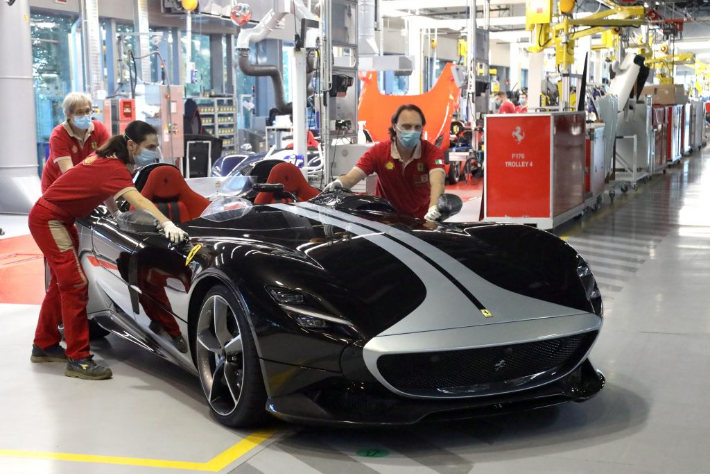 Ferrari Factories Back In Full Capacity