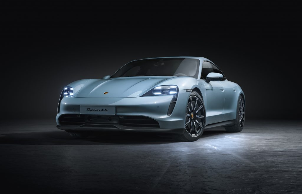 Porsche Taycan 4S Electric Sports Car Has Up To 463km Of Juice