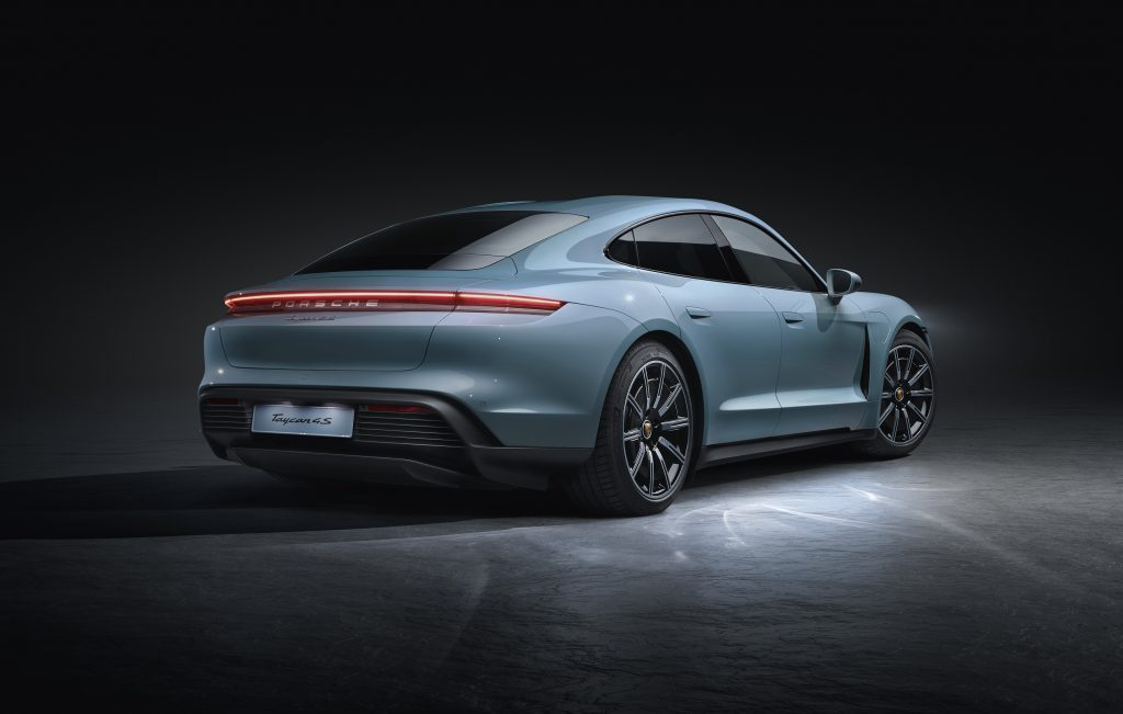 Porsche Premiered The Taycan 4S, Macan Turbo & 99X Electric At The LA Auto Show