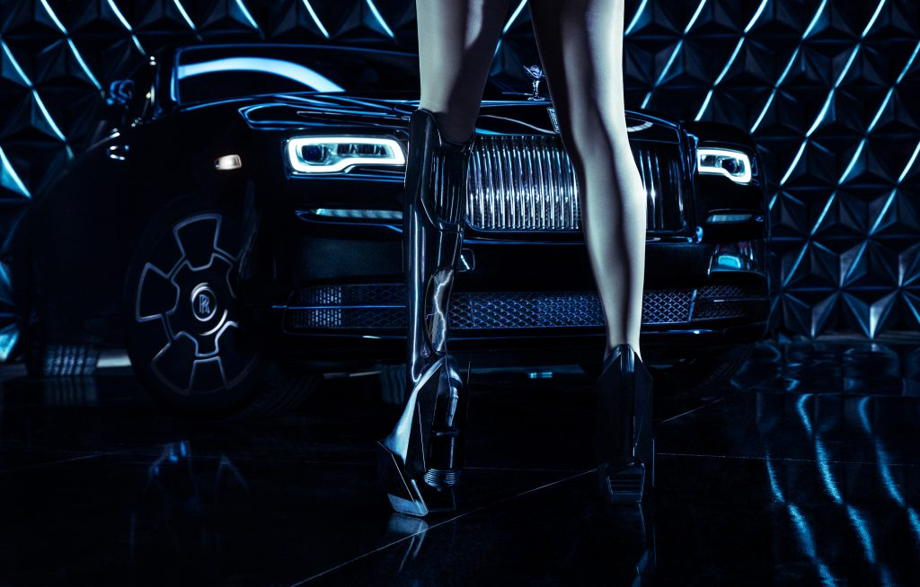 Singer-Actress Viktoria Modesta Embodies Rolls-Royce Black Badge Series