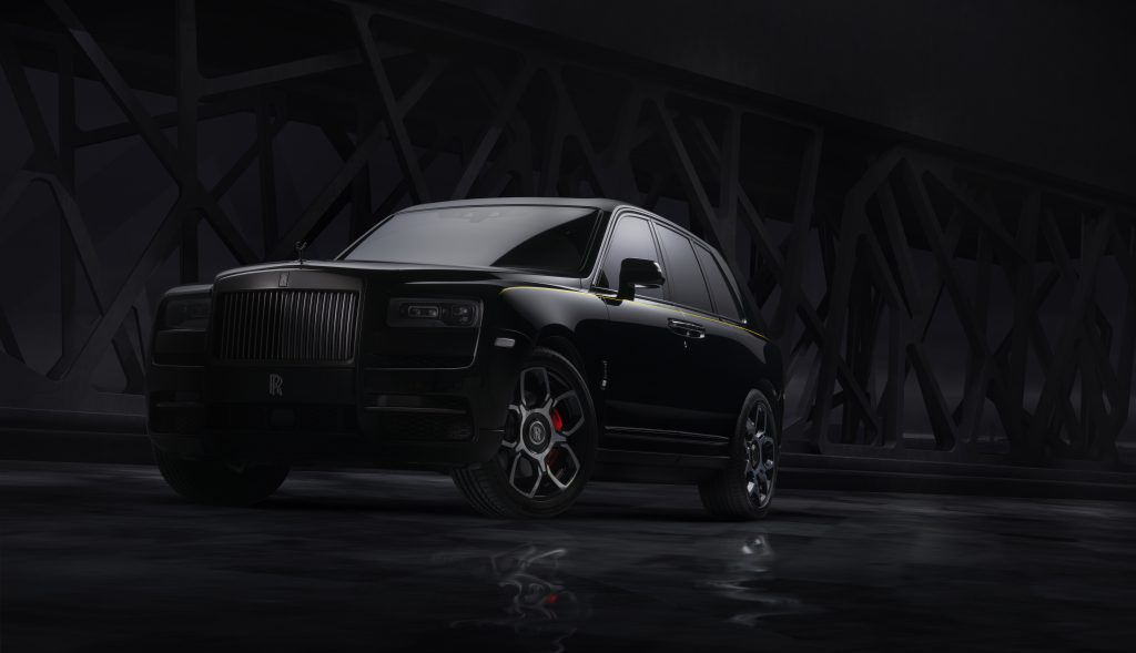 Cullinan Completes Rolls-Royce's Black Badge Family