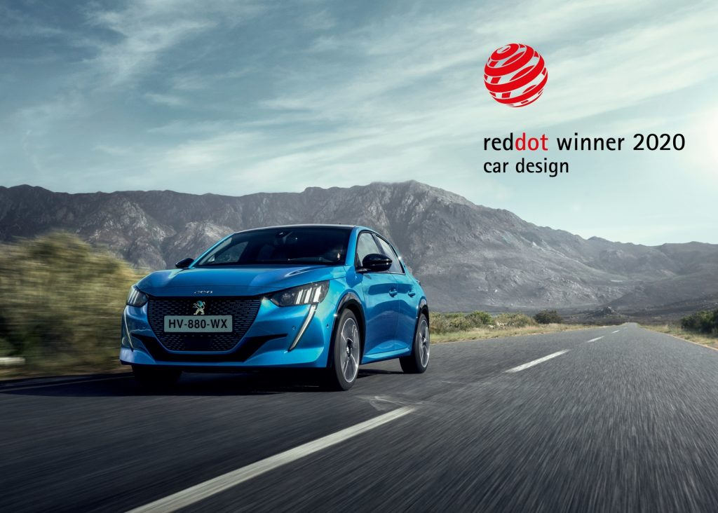 Peugeot 208 & 2008 Bagged The Red Dot 'Product Design' Award