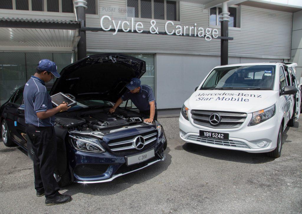 Cycle & Carriage Bintang Brings Car Service To Customers' Doorstep