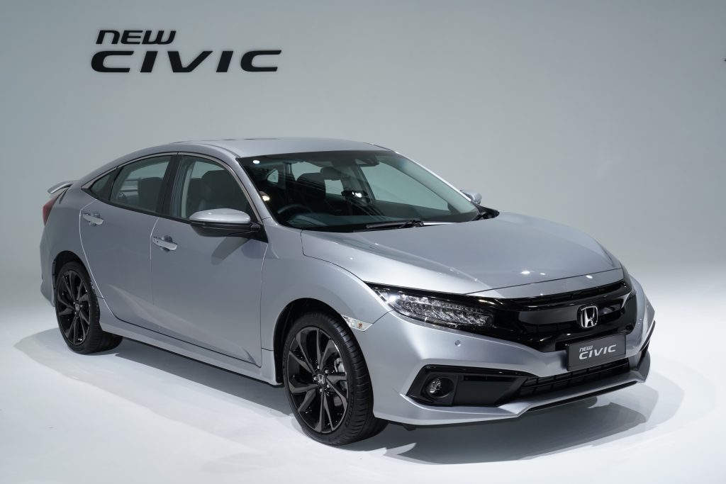 All You Need To About The Facelifted Honda Civic