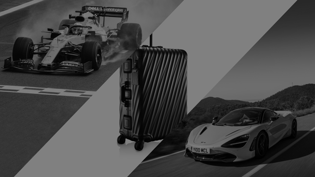 McLaren Partnered TUMI As The Official Luggage Partner