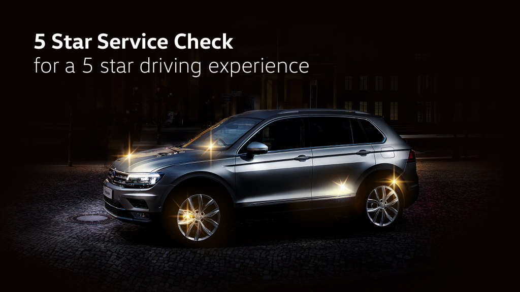 Send Your Volkswagen For A Free 5 Star Service Check