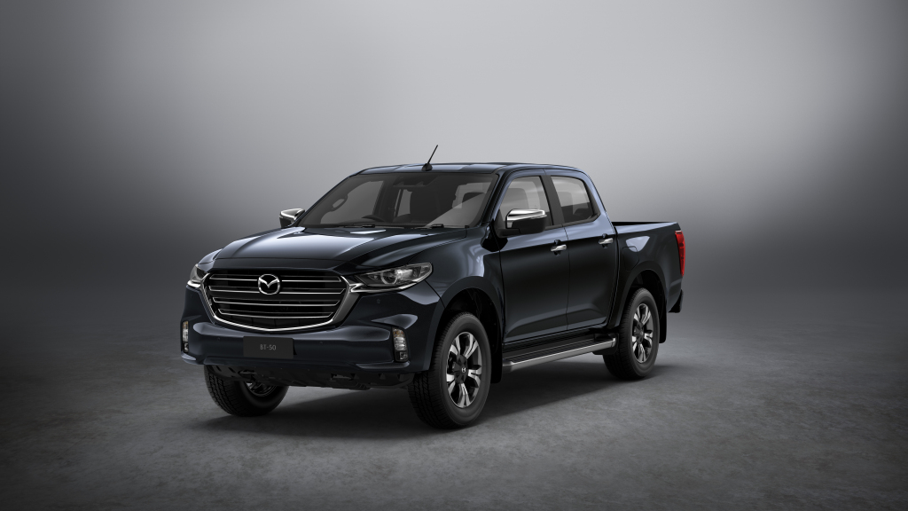 The Fully Redesigned Mazda BT-50