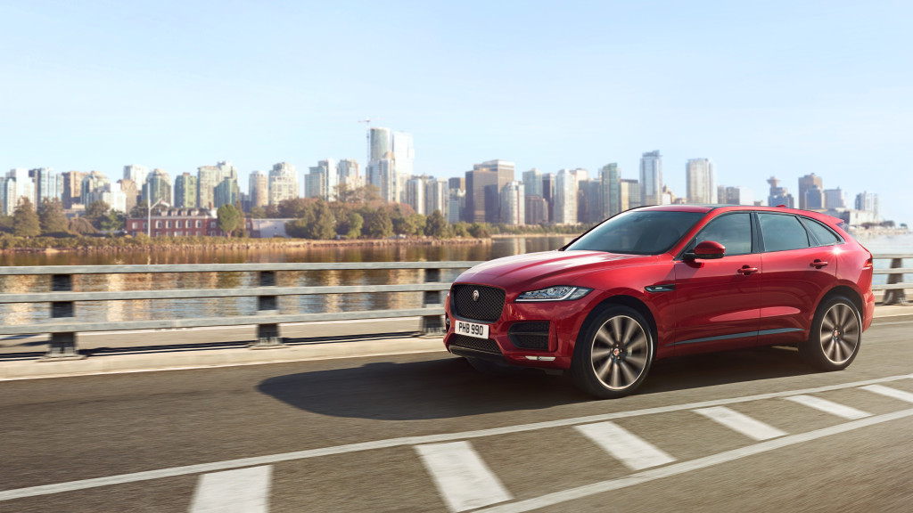 Here Comes The Limited Edition Jaguar F-Pace