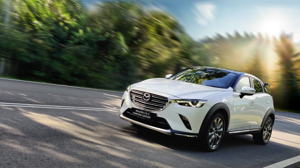 The Limited Edition Mazda CX-3 Launched