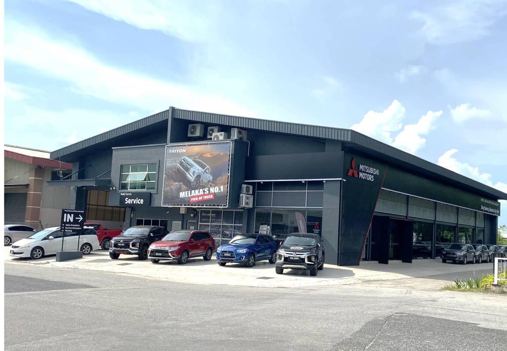 Mitsubishi Motors Malaysia's Authorised Dealer Sing Kwung Jidosha Has A New Visual Identity