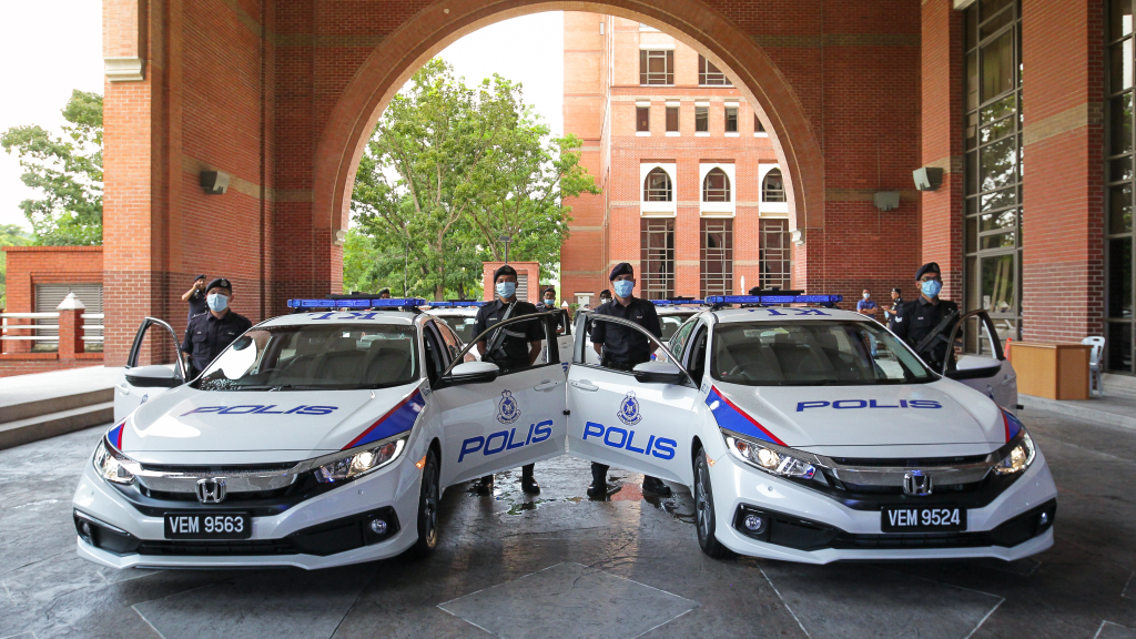425 Units Of Honda Civic 1.8S Delivered To The Royal Malaysia Police
