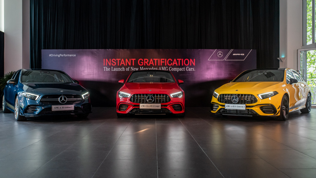 Mercedes-AMG A35 4Matic, A45 S 4Matic+ and CLA 45 S 4Matic+ launched in Malaysia