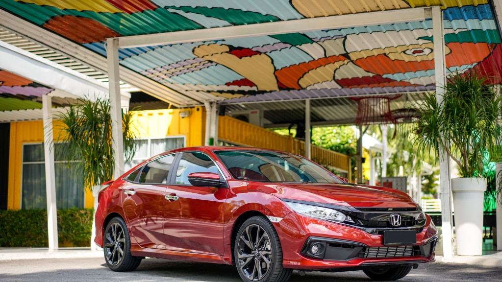 New Honda Civic With Advanced Technology