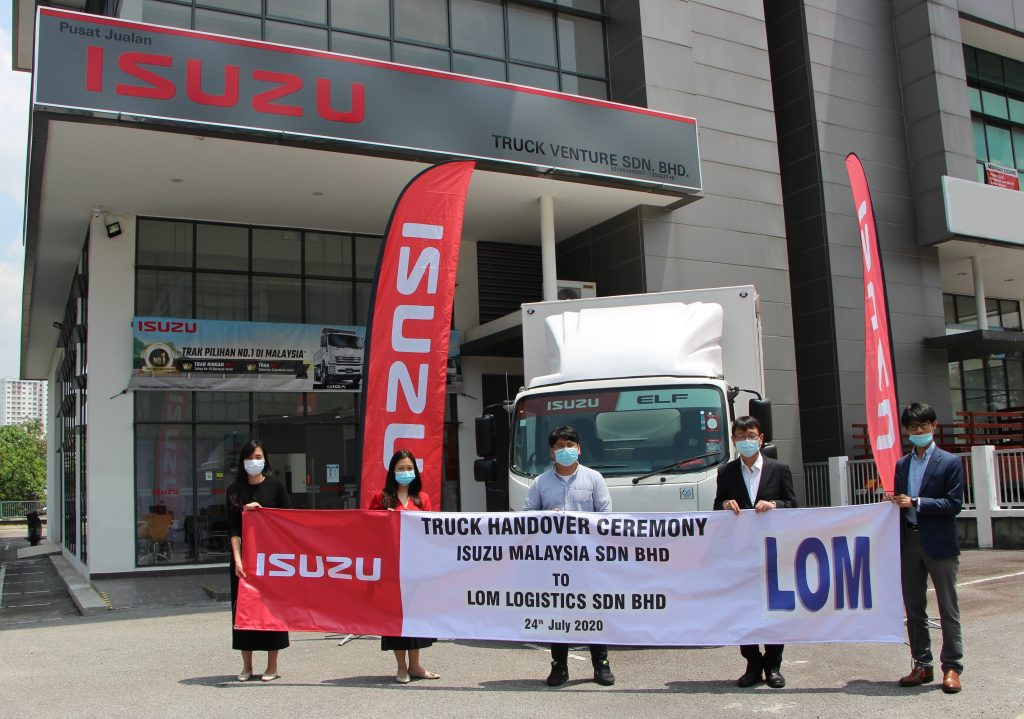 Truck Venture Handover Its First Truck To LOM Logistics