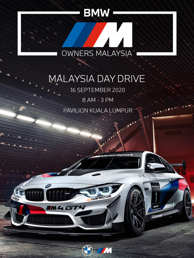 Malaysia Day Drive Organised By BMW M Owners