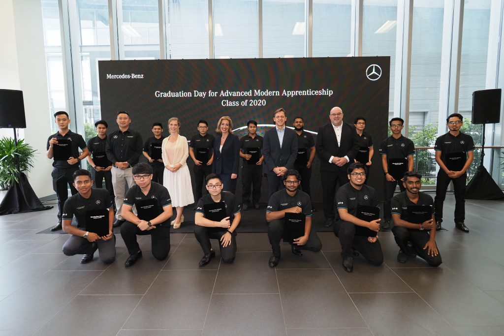 54 Trainees Graduated From Mercedes-Benz Apprentice Programme