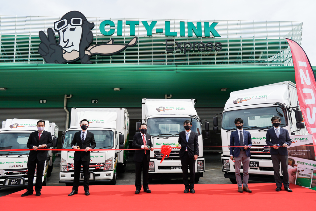 277 Units Of Isuzu Trucks Delivered