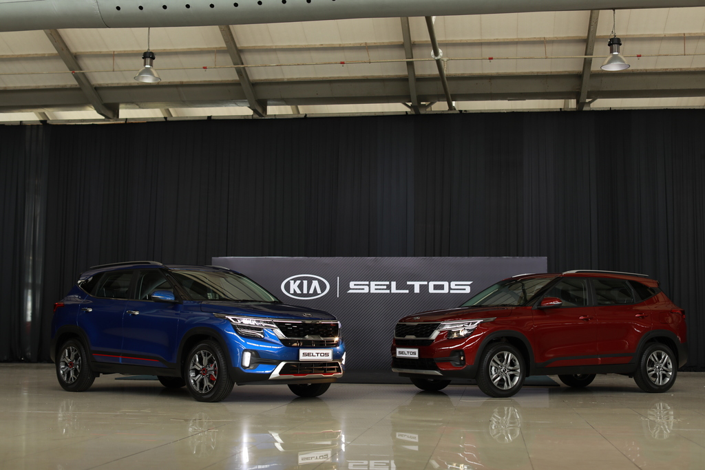 Upcoming Kia Seltos