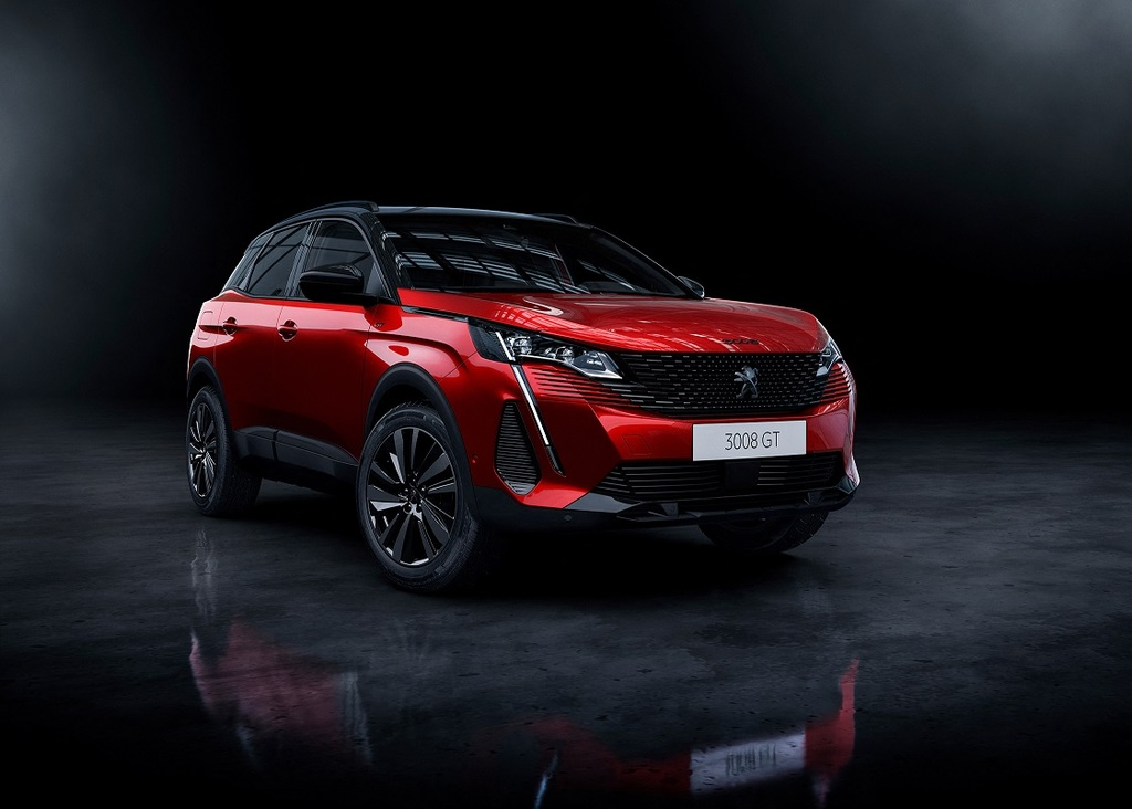 Peugeot 3008 SUV Unveiled