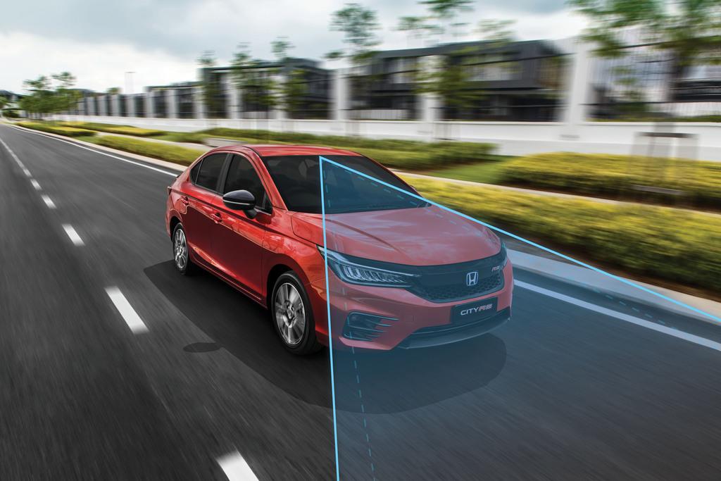 Honda SENSING For The Upcoming Honda City RS i-MMD