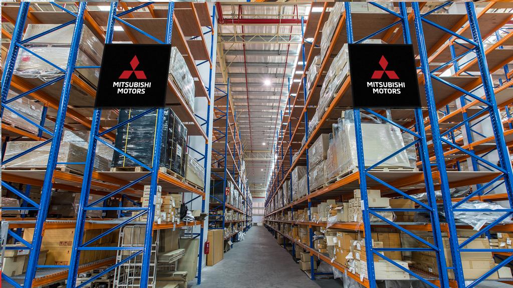 New Parts Warehouse For Mitsubishi Motors Malaysia