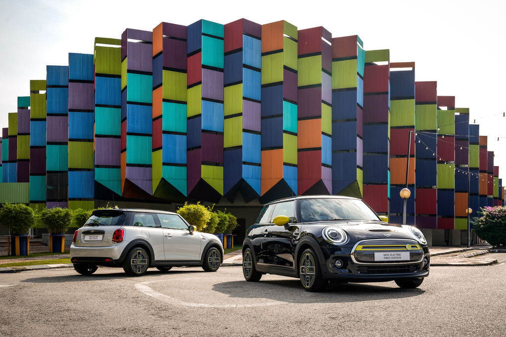Limited To 15 Units MINI Electric First Edition Unveiled