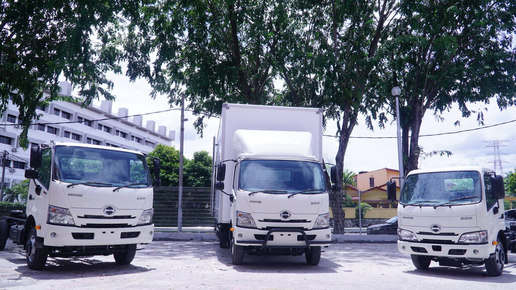 Hino Introduced The 300 Series Pro