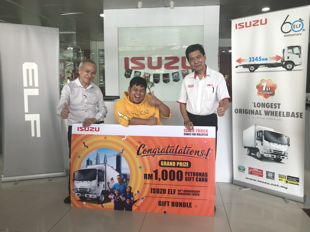 Congratulation To Isuzu Truck Cares For Malaysia Facebook Photography Contest's Winners