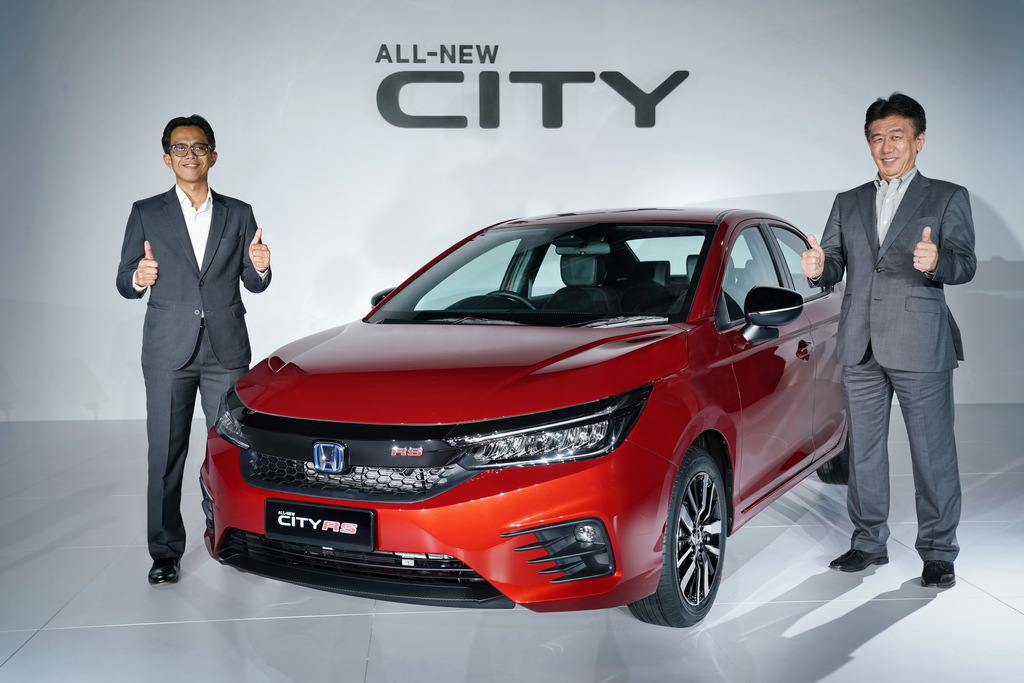 Here Comes The 5th Generation Honda City