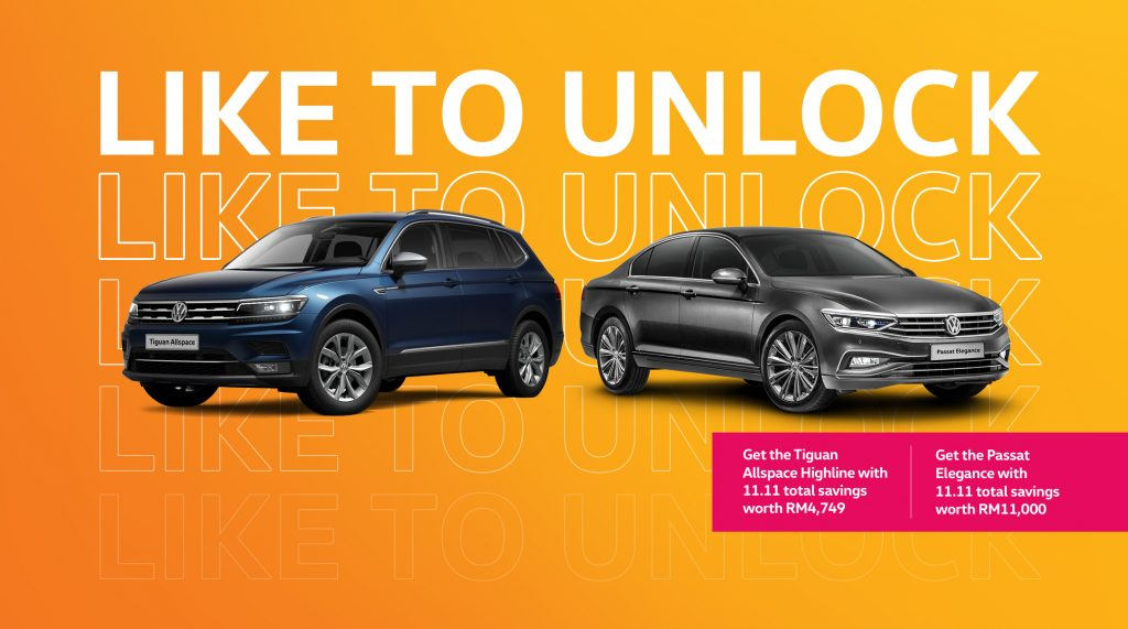 11.11 Sale By Volkswagen Malaysia