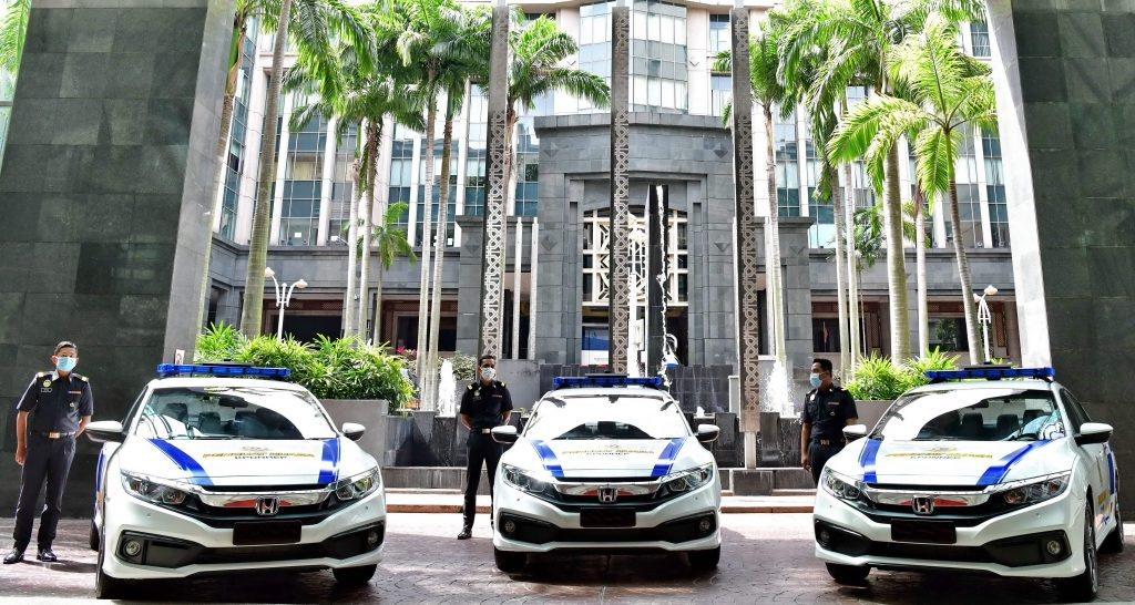 16 Units Of Honda Civic Delivered To Ministry Of Domestic Trade And Consumer Affairs