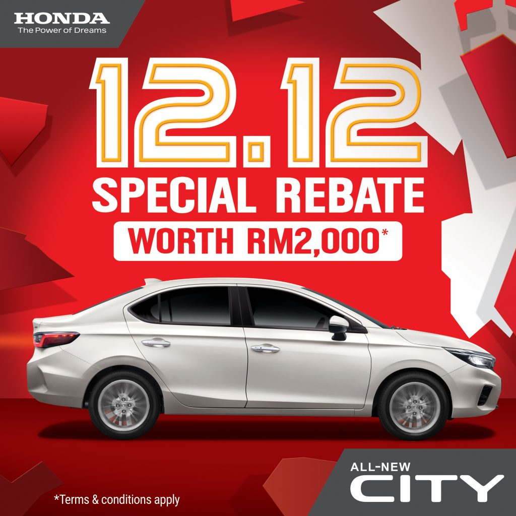 Honda's 12.12 Special Sales For City