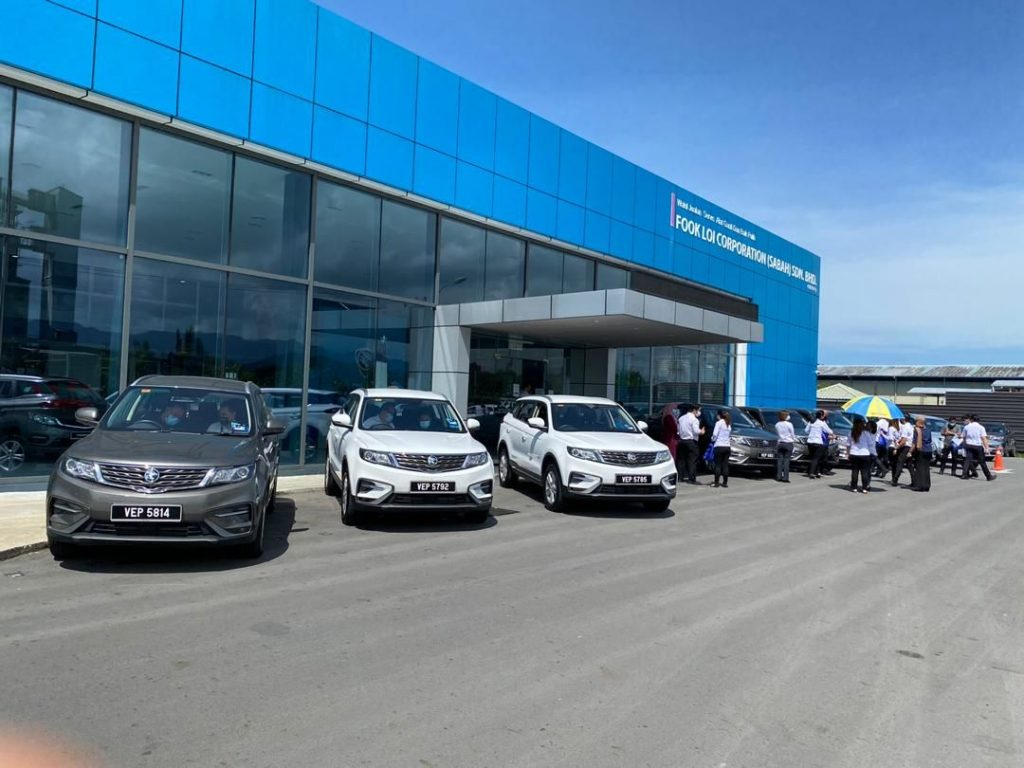 Proton Loan Eight X70 To MOH