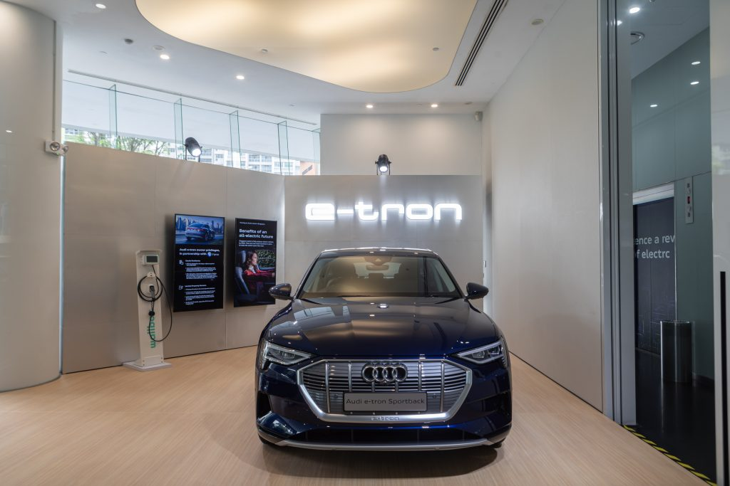 Audi E-Tron Hub at Audi Centre Singapore