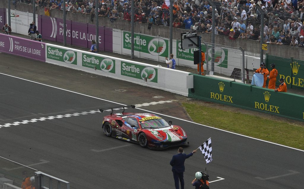 Ferrari enters the Le Mans Hypercar era