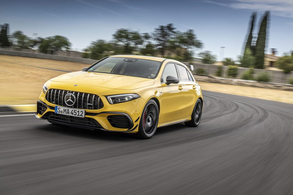 Updates on Mercedes-AMG Compact Cars