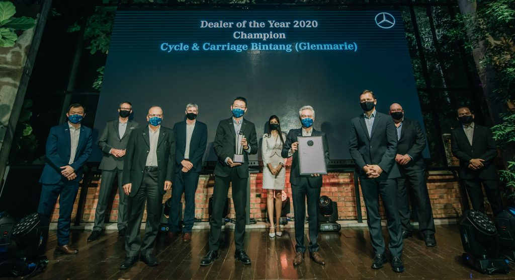 Mercedes-Benz Malaysia celebrates automotive excellence with Dealer of the Year 2020 awards