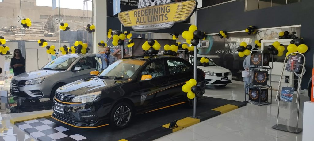PROTON SAGA DEBUT IN PAKISTAN